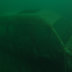 wrak auta nurkowanie