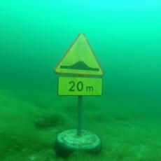 podwodny znak nurkowanie