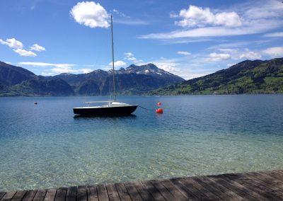 Nad jeziorko pod namiot. Austria