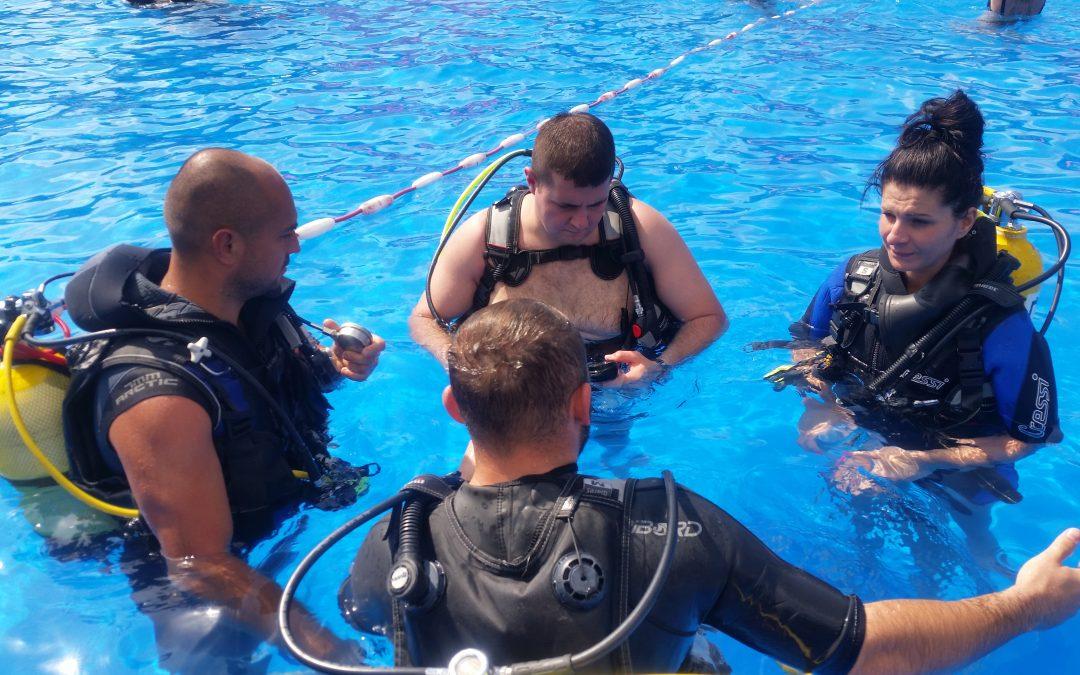 Kontynuacja kursu nurkowania OWD Sierpień pełen nurkowań!